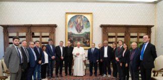 La FLAI CGIL da Papa Francesco